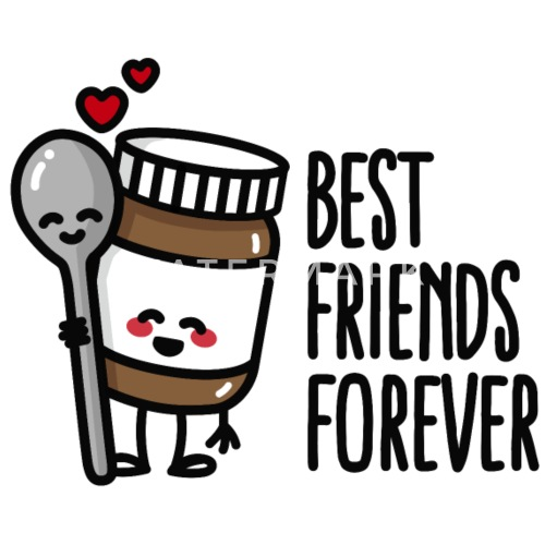 Best Friends Forever Chocolate Spread Spoon Bff Iphone 4 4s Case