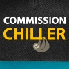 commission chiller - Contrast Snapback Cap