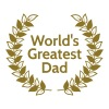 Greatest Dad største far - Herre premium T-shirt