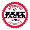 Approved best jager - T-shirt Premium Homme