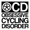 OCD obsessive cycling disorder - Herre premium T-shirt