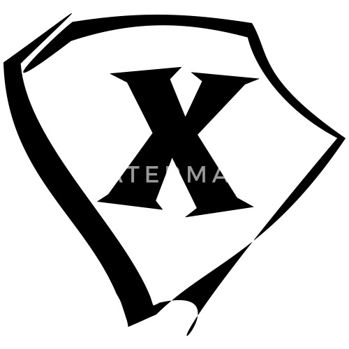 Godło Litera X Logo Od Bellanny Spreadshirt