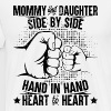 Mommy and daughter heart to heart - Men's Premium T-Shirt