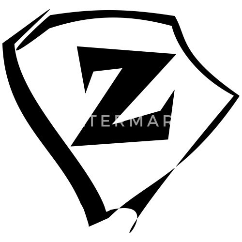 Godło Litera Z Logo Premium Koszulka Męska Spreadshirt