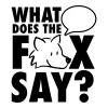 What does the fox say? - T-shirt Premium Homme