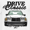 W124 Drive the Classic T-shirt design - Men's Premium T-Shirt
