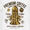 ENJOY COFFEE - Coffee and Barista Shirt design - Men's Premium T-Shirt