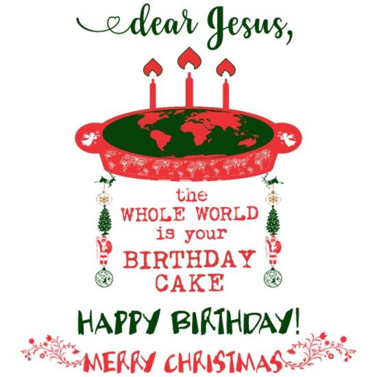 Frohe Weihnachten Jesus.Jesus Geburtstag Kuchen Frohe Weihnachten Manner Premium T