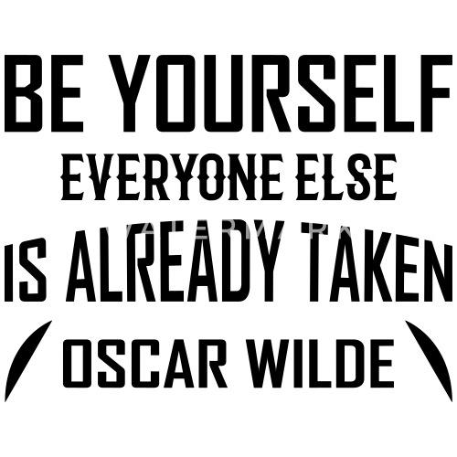 Oscar Wilde von zitate-shirts.com | Spreadshirt