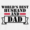 World's Best Husband and Dad - Men's Premium T-Shirt