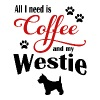 Westie Coffee - Men's Premium T-Shirt