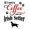 Irish Setter Coffee - Men's Premium T-Shirt