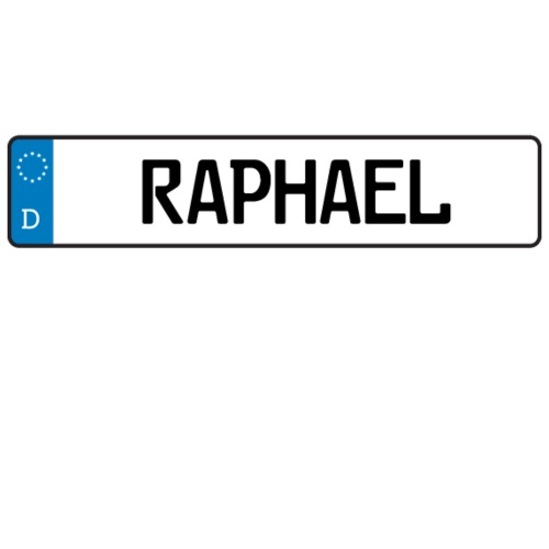 raphael name tag gift by masterjs spreadshirt