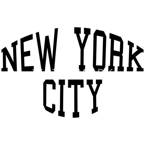 new york city schriftzug von msmservice spreadshirt. Black Bedroom Furniture Sets. Home Design Ideas