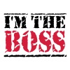 I'm the Boss - Premium-T-shirt herr