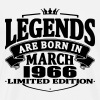 Legends are born in march 1966 - Men's Premium T-Shirt