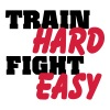 Train hard, fight easy - Männer Premium T-Shirt