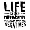 Life Is Like Photography... - Men's Premium T-Shirt