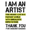 I am a Artist ... - Men's Premium T-Shirt