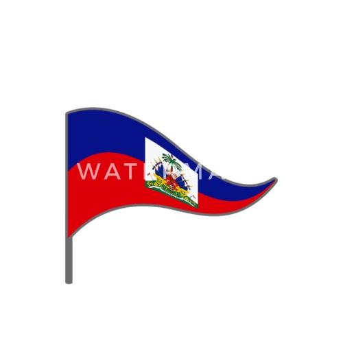 haiti caribbean prince flage flag landesfarben port by moptee