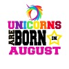 Unicorns are born in August - Men's Premium T-Shirt