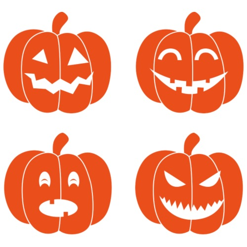 Cuatro calabazas de Halloween por Klein4   Spreadshirt