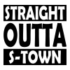 Straight Outta S-Town - Men's Premium T-Shirt