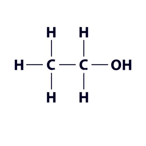Ethanol Molecule Alcohol Formula Gift Saying By Geschenke Welt