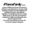 Definition of Trance Family - Men's Premium T-Shirt