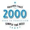 original since 2000 simply the best 18th Birthday - Men's Premium T-Shirt