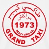Grand taxi Marrakech - Men's Premium T-Shirt