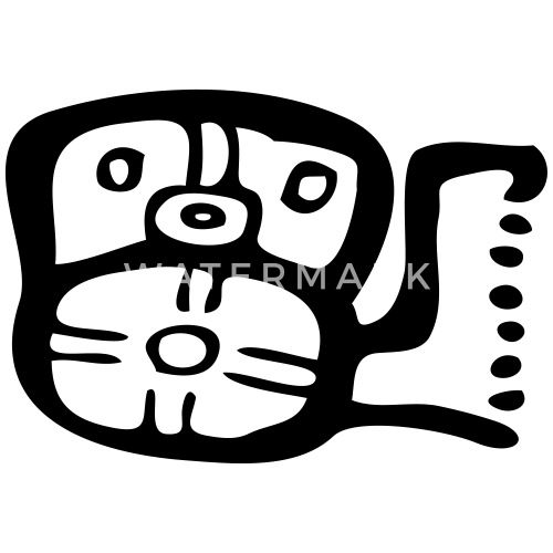 Mayan Symbols Mayan Script Mayan Glyphs By Nakoa Spreadshirt