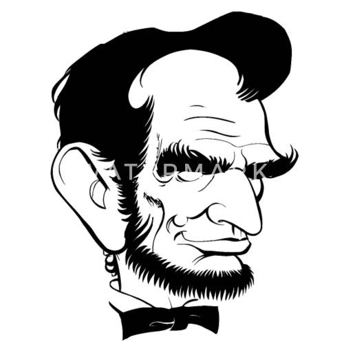 Lincoln Cartoon By Tea Shirt Spreadshirt