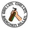 Grillen, Chillen, Bierchen killen. Black - Männer Premium T-Shirt