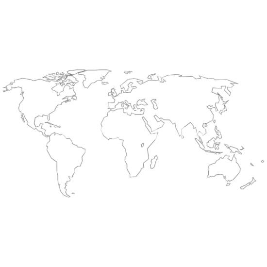 Kontury Mapy Swiata Premium Koszulka Meska Spreadshirt