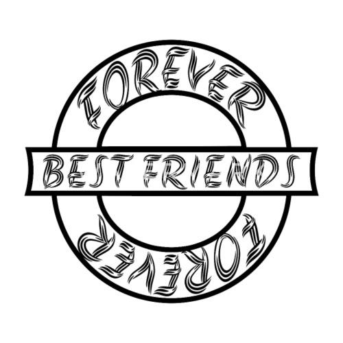 Best Friends Forever Best Friends Forever Mens Premium T Shirt