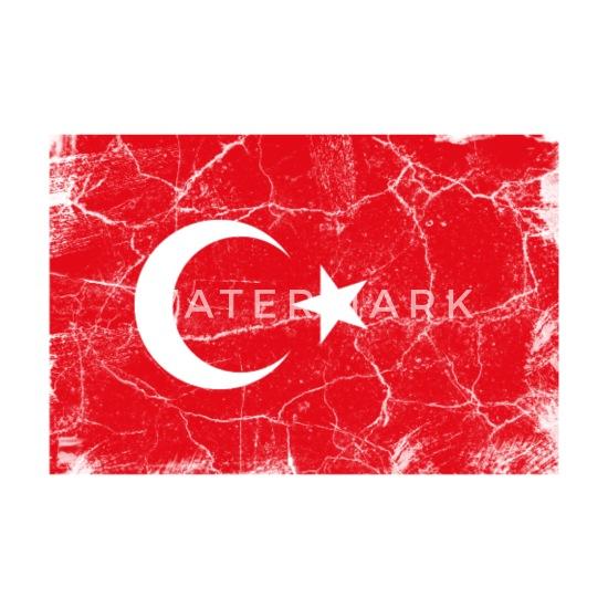 T-SHIRT DONNA I LOVE CALCIO Turchia Bandiera Cuore Nuovo