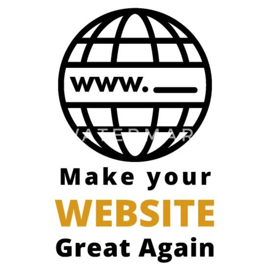 Site Web Drole Disant Pour Les Concepteurs Web T Shirt Premium Homme Spreadshirt