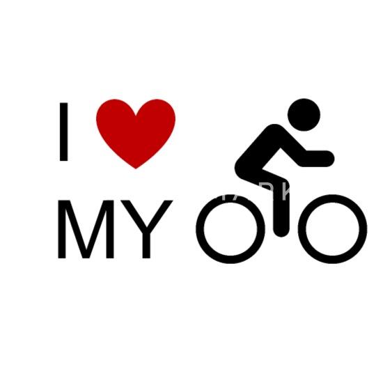 Jeg elsker min cykelcykel cykelcykel cykel mountainbike MTB