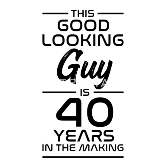 Betere Gift 40ste verjaardag cadeau-idee 40 jaar Mannen premium T-shirt MN-47