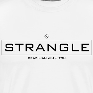 Strangle BJJ - Men's Premium T-Shirt