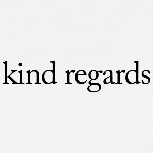 kind regards - Men's Premium T-Shirt