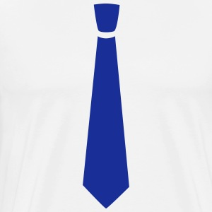 Wide tie - Men's Premium T-Shirt