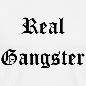 Real Gangster - Premium-T-shirt herr