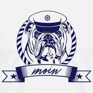 ENGLISH BULLDOG MOIN - Männer Premium T-Shirt