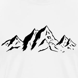 Mountains - Männer Premium T-Shirt