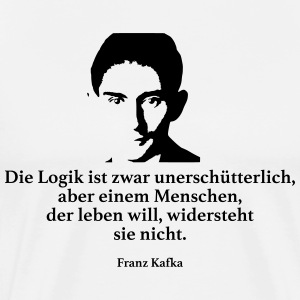 Kafka: The logic is unshakeable, though - Men's Premium T-Shirt