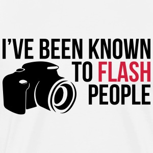 Flash People Photography - Männer Premium T-Shirt