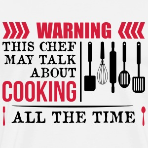 This Chef talk about Cooking - Men's Premium T-Shirt