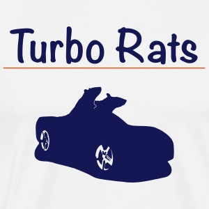 Turbo Rats - Men's Premium T-Shirt